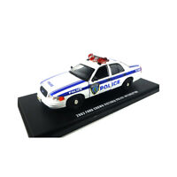 Greenlight 86569 Ford Crown Victoria Police Interceptor weiss Maßstab 1:43 NEU!°