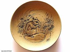 POOLE Pottery Stoneware Plate FIELD MOUSE 'Poole For Collectors' By BLA