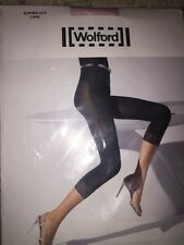 Wolford SUMMER LACE Capri Leggings Pink Extra-Smal 18930 80 Den rare $82