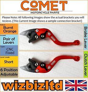 Ducati Monster S4R S 2006-2008 [Court Orange] [ Comet Réglable Course Levier]