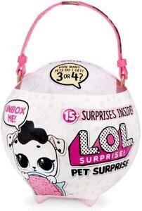 L.O.L. Surprise, Pet Surprise – Mega Ball 15 Surprises including 1 Giant Pets