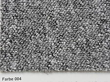 Teppichboden Auslegware rustikale Schlingenware 400 u. 500cm Breite grau