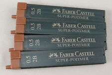 Four 12-Packs Of Faber-Castell Pencil Lead - 0.5mm 2B - Germany - New
