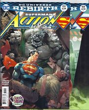 DC SUPERMAN IN ACTION COMICS #959 AND #959 VARIANT COVER DOOMSDAY! REBIRTH! NM