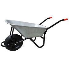 Wheelbarrow Large Galvanised Pneumatic Tyre DUK 100 L - 180 KG ALL STEEL NEW