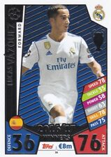 Lucas Vázquez 2017-18 Topps Champions League Match Attax,Cartas Coleccionables