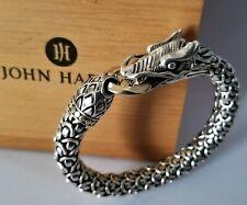 JOHN HARDY Naga Large 11mm Dragon 18K Chain Bracelet - 93 Grams - MINT! $1995