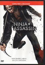 NINJA ASSASSIN - DVD (USATO EX RENTAL)