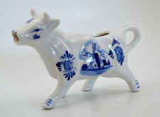 Delft Vintage Cow Creamer or Milk Pitcher Made in Holland