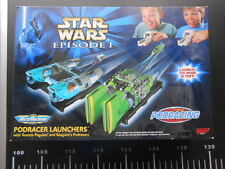 Star Wars Episode 1 Micro Machines Play set - Pod Racer Launchers Vintage
