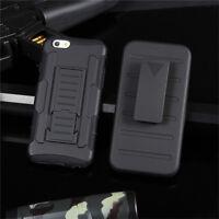 Coque Protection Etui Dorsal Rigide Antichoc Support Clip Ceinture iPhone 7 Plus