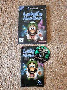 Nintendo Gamecube AUS PAL- Luigis Mansion. Complete With Manual. CIB
