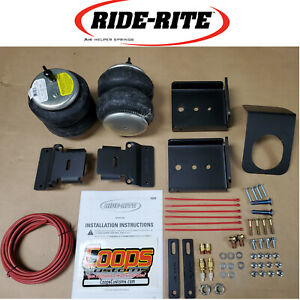 Firestone Ride Rite Helper Air Bag Spring Kit 2019-2020 Silverado Sierra 1500