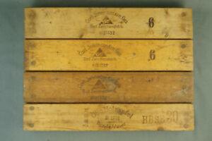 4x alte Zigarrenform Zigarrenpresse 1x Holzapfel Bünde 3x Intelmann Zwischenahn