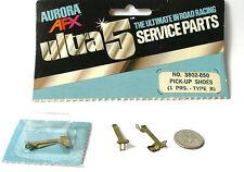 1977 Aurora AFX SpeedSteer Ultra5 PICK-UP SHOES TYPE A Service Part #3803 Bubble