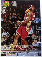 2006-07 Upper Deck The Finals Past and Future Lebron James #LJ-23, Cavaliers