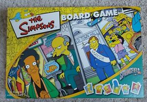 THE SIMPSONS BOARD GAME - 2000 _ EXCELLENT CONDITION _ CONTENTS SEALED _