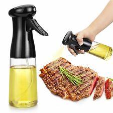 210ML Pulverizador de aceite de oliva para cocinar barbacoa Dispensadores De Cocina botella de bomba de pulverización Mister