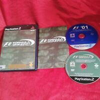 Formula One 2001 F1 Limited Edition Pack Playstation PS2 Video Game Manual PAL