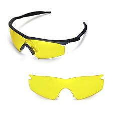 New Walleva Yellow Replacement Lenses For Oakley M Frame Strike Sunglasses