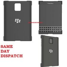 Genuine BlackBerry PASSPORT HARD SHELL smart phone case back rear cover casing