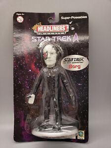 NIB Star Trek The Next Generation Borg Movie Headliners Poseable Figure 2000