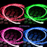 Micro USB Cable Flowing LED Light Data Sync Charging Cord For Samsung Android