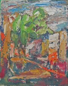 "Rudolph J Schmidt 1963 - ""Patzcuaro Mexico"" Giclee Canvas Print in various sizes"