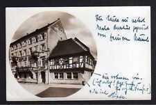 101243 AK Gernsbach bei Baden-Baden 1940 Hotel & Pension z. goldenen Stern u. Hi