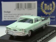 Bos Dodge Custom Royal Lancer Coupe, verde chiaro/verde scuro - 87057 - 1:87