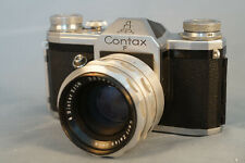 Contax F mit Biotar 2,0/58mm.