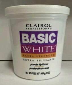 CLAIROL Professional Basic White Extra Strength Powder Lightener 1lb / 454g