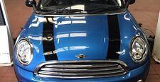 Mini R56 Capó Rayas en Negro Brillante