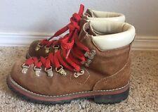 JC Penney Hiking Mountain Climbing Boots Vintage Womens Sz 5.5? USA Made NICE!!