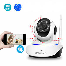 Wireless WIFI CCTV IP Camera Night Vision 720P Security Network Audio Webcam
