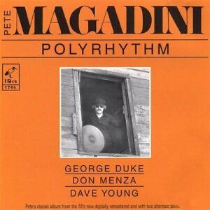 Pete Magadini-Polyrhythm CD NEUF