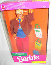 #6234 NRFB Mattel United Colors of Benetton Shopping Ken (Barbie) Foreign Issue