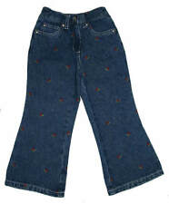 Gymboree Holiday Magic Girls Cherry Holidays Jeans Size 4