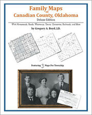 Family Maps Canadian County, Oklahoma Genealogy OK Plat