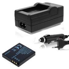Batería + CARGADOR PARA Ricoh Caplio r6, r7, r8, r10 db-70 db70 accu Charger