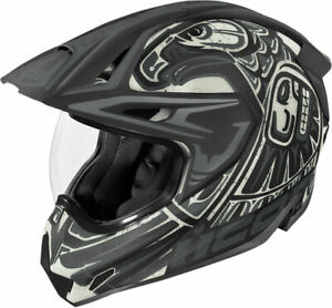 Icon Variant Pro TOTEM Full-Face Helmet (Black/Gray) LG (Large)