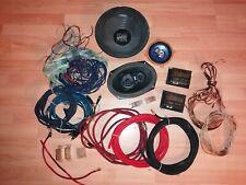 Car Hifi Frequenzweichen Cinch Kabel Endstufe Einbau Lautsprecher Boxen Kabel