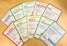 Noblesse Korean Face Sheet Masks Daily Use 10 different mixed masks/pack 50%off