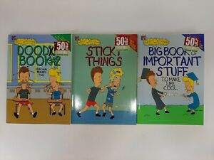 Beavis & Butthead Big Book Of Important Stuff Doodle Book #2 Sticky Things Books