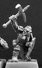 1 x MERCENARY DARK DWARF - WARLORDS REAPER miniature d&d jdr rpg nain14331 r