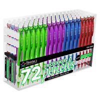 Thornton's Office Supplies Mechanical Pencils 0.5mm Assorted Colors, Pack of 72