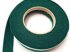 DARK GREEN Sticky Self-Adhesive Felt Furniture Pad Roll Hard Surface Strip 1m