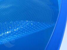 Oval Solarplane Solarfolie Poolabdeckung 6,3x3,7m Blau Solar