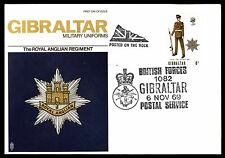 Gibraltar Cover Stamps
