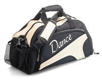 Medium Large Sparkly Gold Dance Ballet Tap Kit Holdall Sports Bag KB93 By Katz